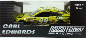 Carl Edwards #99 1/64th 2014 Lionel Subway Fusion