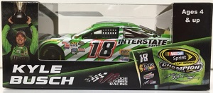 Kyle Busch #18 1/64th 2015 Lionel Interstate Batteries Championship Toyota Camry