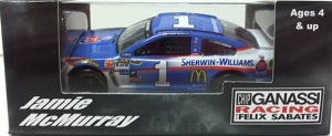 Jamie McMurray #1 1/64th 2015 Lionel Sherwin-Williams Chevy SS