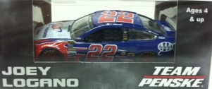 Joey Logano  #22 1/64th 2015 Lionel AAA Ford Fusion