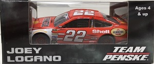 Joey Logano #22 1/64th 2015 Lionel Shell Pennzoil Red Ford Fusion