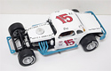 Bugsy Stevens #15 1/25th 2007 Nutmeg modified coupe