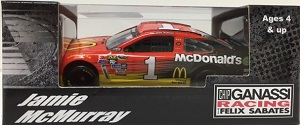 Jamie McMurray #1 1/64th 2016 Lionel McDonald's Chevy SS