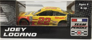 Joey Logano #22 1/64th 2016 Lionel Shell-Pennzoil Ford Fusion