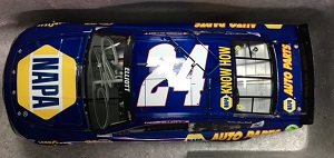 Chase Elliott #24 1/24th 2016 Lionel NAPA AUTOGRAPHED Chevy SS