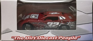 Bobby Pierce #32 1/64th 2016 ADC Allgayer dirt late model