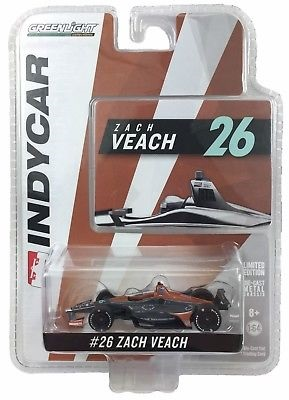 Zach Veach #26 1/64th 2018 Greenlight Group One Thousand One Indycar