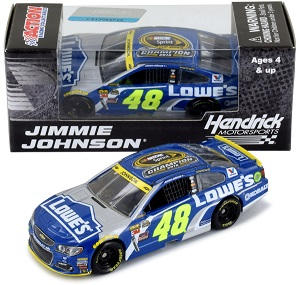 Jimmie Johnson #48 1/64th 2016 Lionel Lowe's Sprint Cup Champion Chevy SS