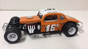 Dick Clark #16x 1/25th custom built modified coupe