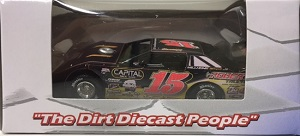 Steve Francis #15 1/64th 2017 ADC Rhino AC dirt late model