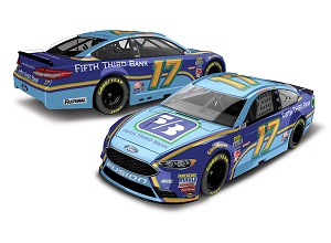 Ricky Stenhouse Jr #17 1/64th 2017 Lionel Fifth Third Bank Ford Fusion