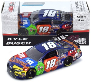 Kyle Busch #18 1/64th 2017 Lionel Caramel M and Ms Pocono Win Toyota Camry