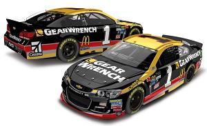 Jamie McMurray #1 1/64th 2017 Lionel GearWrench Chevy SS