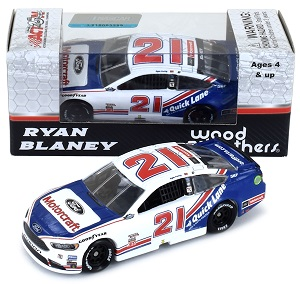Ryan Blaney #21 1/64th 2017 Lionel Motorcraft Darlington Ford