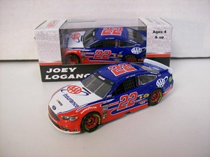 Joey Logano #22 1/64th 2017 Lionel AAA Insurance Ford Fusion