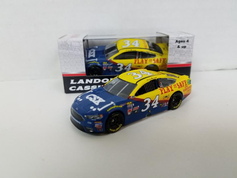 Landon Cassill #34 1/64th 2017 Lionel CSX Ford Fusion