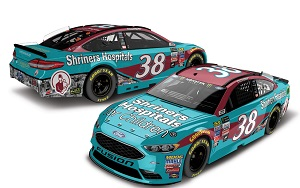 David Ragan #38 1/64th 2017 Lionel Shriner's Hospital for Children Ford Fusion