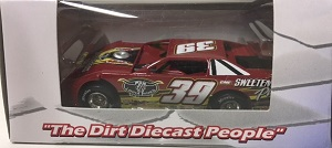 Tim McCreadie #39 1/64th 2017 ADC Sweetners Plus dirt late model