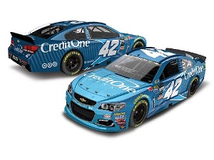 Kyle Larson #42 1/64th 2017 Lionel Credit One Chevy SS