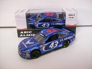 Aric Almirola #43 1/64th 2017 Lionel Air Force Ford Fusion