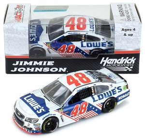 Jimmie Johnson #48 1/64th 2017 Lionel Lowes Patriotic Chevy SS