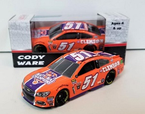 Cody Ware #51 1/64th 2017 Lionel Clemson University Chevy SS