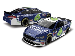 Trevor Bayne #6 1/64th 2017 Lionel Liberty National Ford Fusion