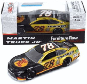 Martin Truex Jr #78 1/64th 2017 Lionel Bass Pro Tracker Boats 40th Anniver Darlington Toyota Camry