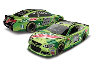 Dale Earnhardt Jr #88 1/64th 2017 Lionel Mountain Dew Chevy SS