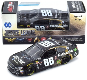 Dale Earnhardt Jr #88 1/64th 2017 Lionel Nationwide Justice League Chevy SS