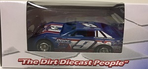 Devin Moran #9 1/64th 2017 ADC Pope Construction dirt late model