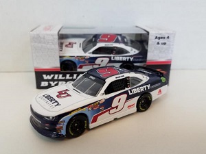 William Byron #9 1/64th 2017 Lionel Liberty University  Camaro