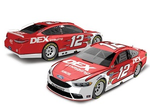 Ryan Blaney #12 1/64th 2018 Lionel DEX Imaging Ford Fusion