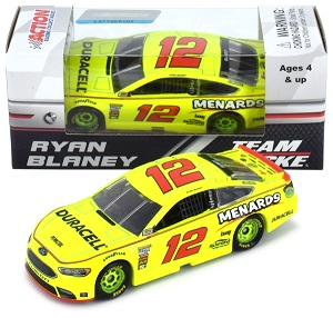 Ryan Blaney #12 1/64th 2018 Lionel Menards Ford Fusion
