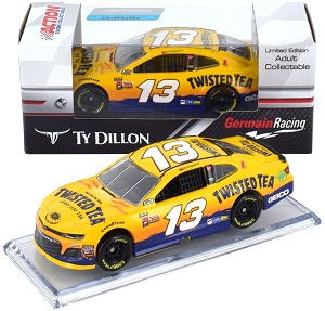 Ty Dillon #13 1/64th 2018 Lionel Twisted Tea Camaro