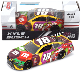 Kyle Busch #18 1/64th 2018 Lionel M and Ms Flavor Vote Toyota Camry