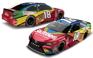 Kyle Busch #18 1/64th 2018 Lionel Skittles Darlington Throwback Toyota Camry