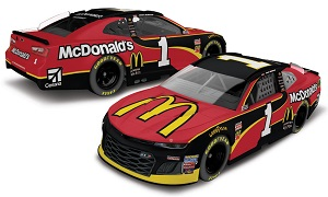 Jamie McMurray #1 1/64th 2018 Lionel McDonald's Camaro