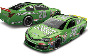 Leilani Munter  #20 1/64th 2018 Lionel Vegan Strong.com ARCA Toyota Camry