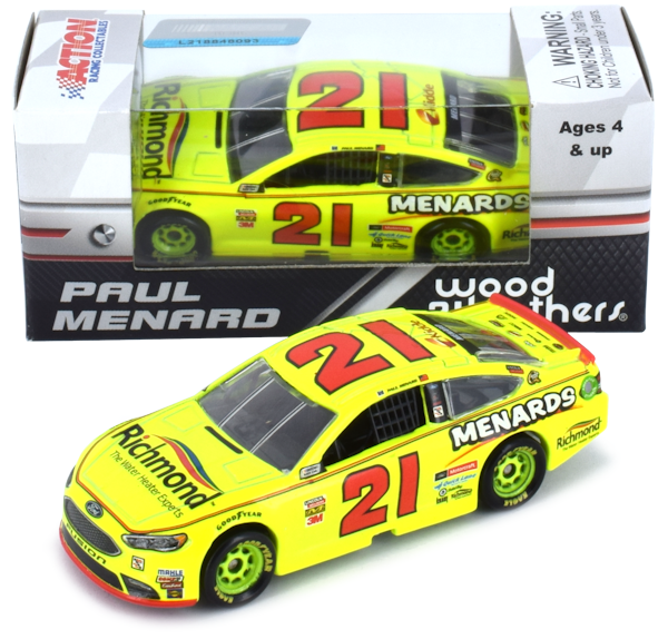Paul Menard #21 1/64th 2018 Lionel Menards Ford