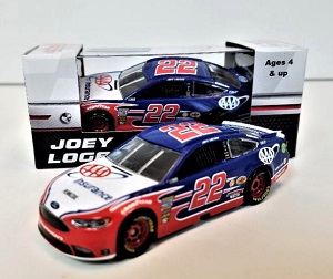 Joey Logano #22 1/64th 2018 Lionel AAA Insurance Ford Fusion