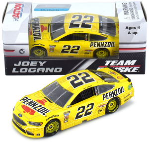 Joey Logano #22 1/64th 2018 Lionel Pennzoil Ford Fusion
