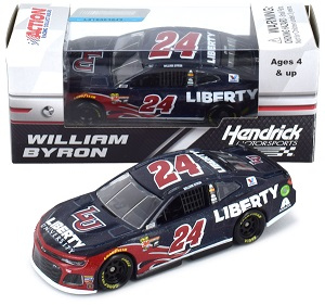 William Byron #24 1/64th 2018 Lionel Liberty University Camaro