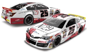 Natalie Decker #25 N29 1/64th 2018 Lionel Capital Partners ARCA Toyota Camry