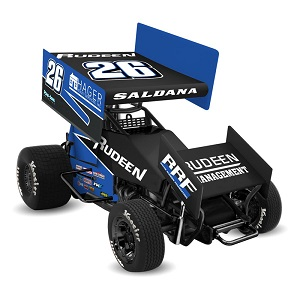 Joey Saldana #26 1/64th 2018 R &R Enterprises Rudeen Racing sprint car