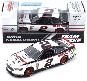 Brad Keselowski #2 1/64th 2018 Lionel Discount Tires Ford Fusion