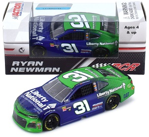 Ryan Newman #31 1/64th 2018 Lionel Liberty National Camaro
