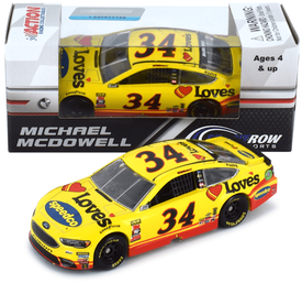 Michael McDowell #34 1/64th 2018 Lionel Love's Travel/SpeedCo Ford Fusion