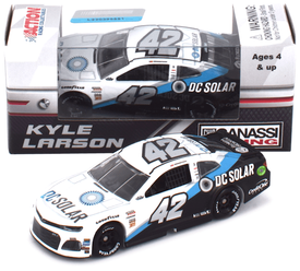 Kyle Larson #42 1/64th 2018 Lionel DC Solar Darlington Throwback Camaro ZL1