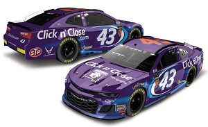 Bubba Wallace #43 1/64th 2018 Lionel Click N Close Camaro